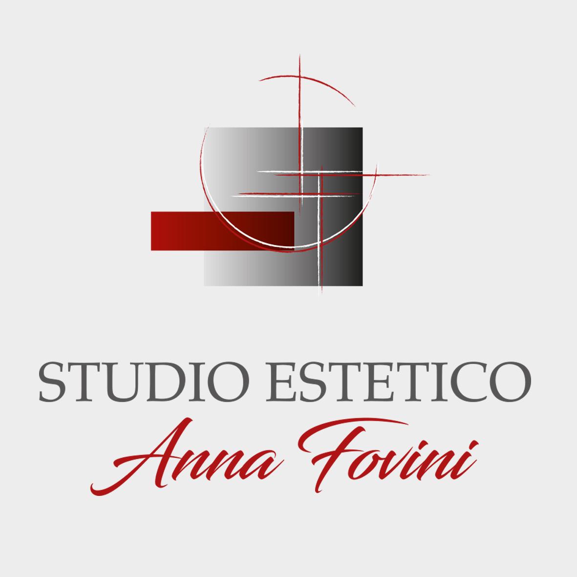Grafica logo design studio estetico Fovini